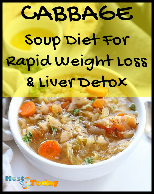 Cabbage Soup Diet For Rapid Weight Loss & Liver Detox