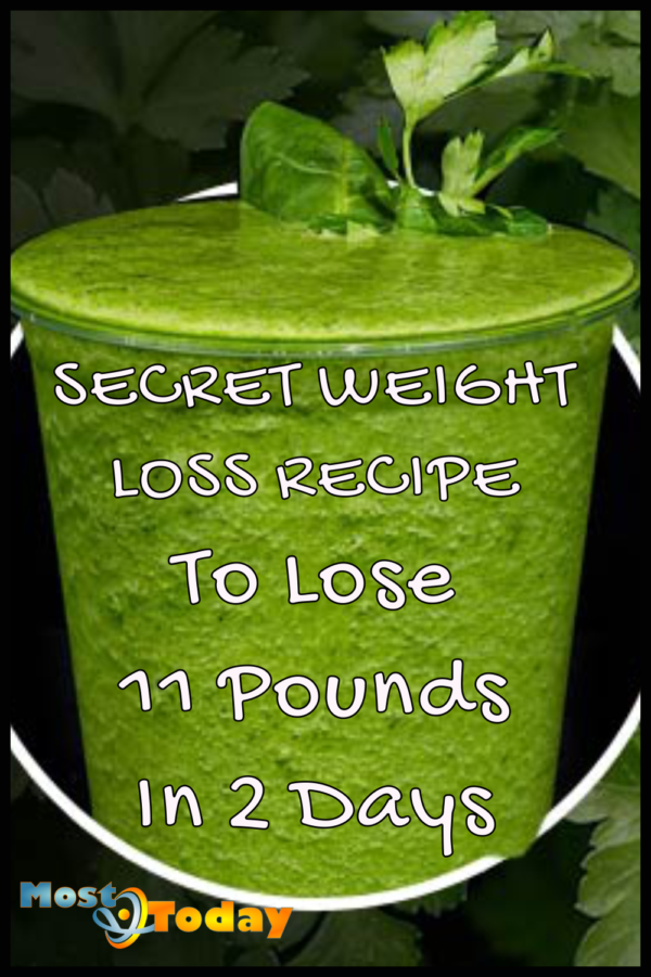 Secret Weight Loss Recipe To Lose 11 Pounds In 2 Days!