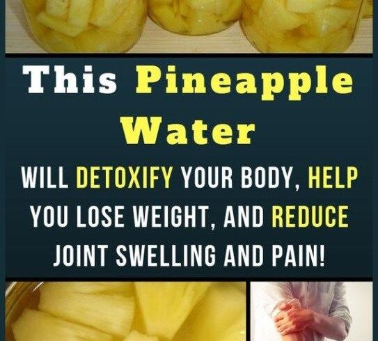 Pineapple Water Will Detoxify Your Body, Help You Lose Weight