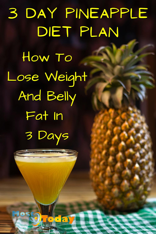 Pineapple Diet Plan