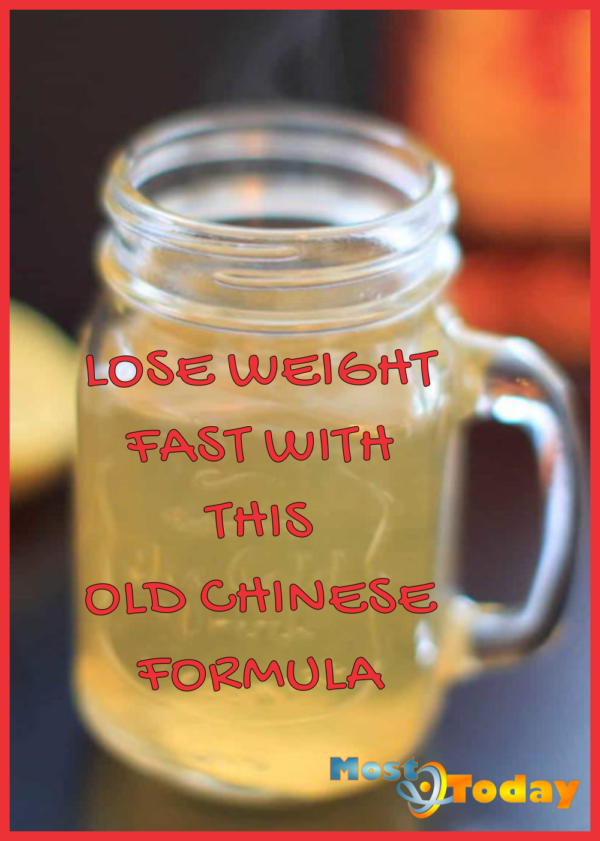 LOSE WEIGHT FAST WITH THIS OLD CHINESE FORMULA