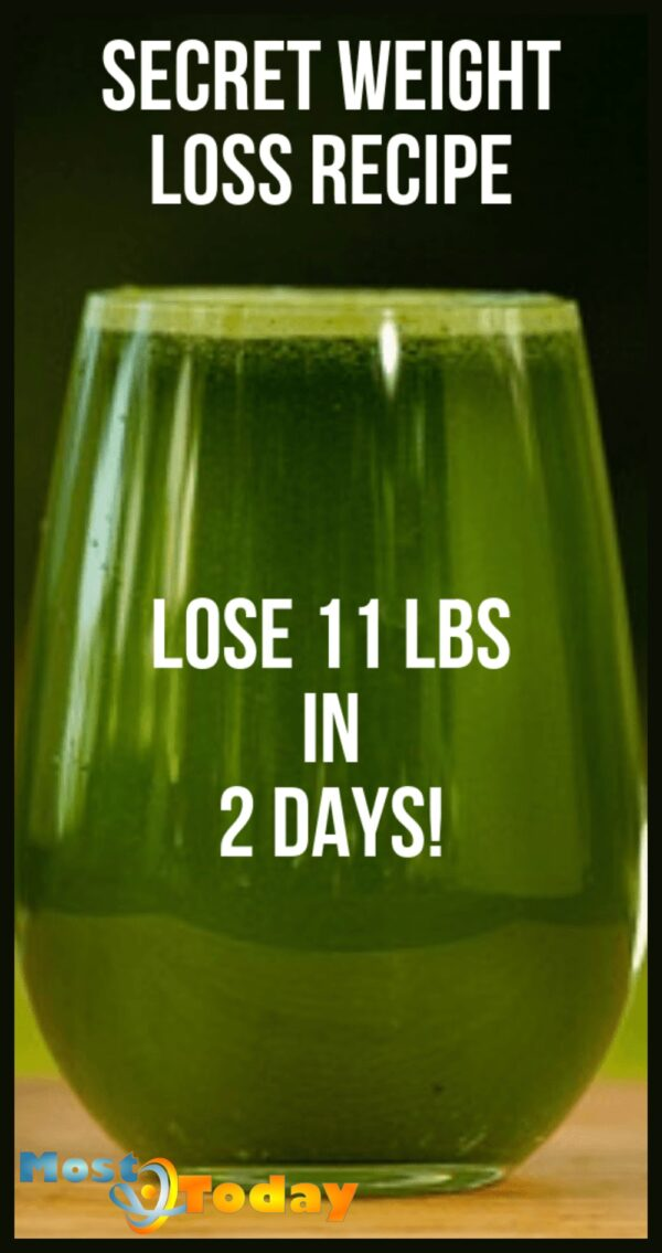 Secret Weight Loss Recipe To Lose 11 Pounds In 2 Days