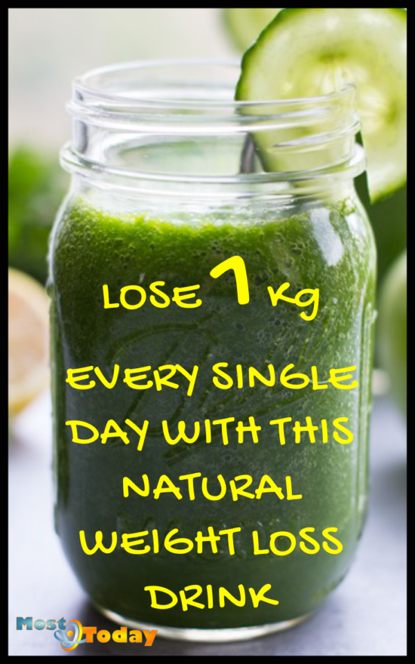 Natural Drink To Lose 1 Kg Everyday