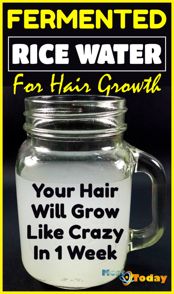 Powerful Rice Water Recipes For Healthy Natural Hair Growth In Just One Week