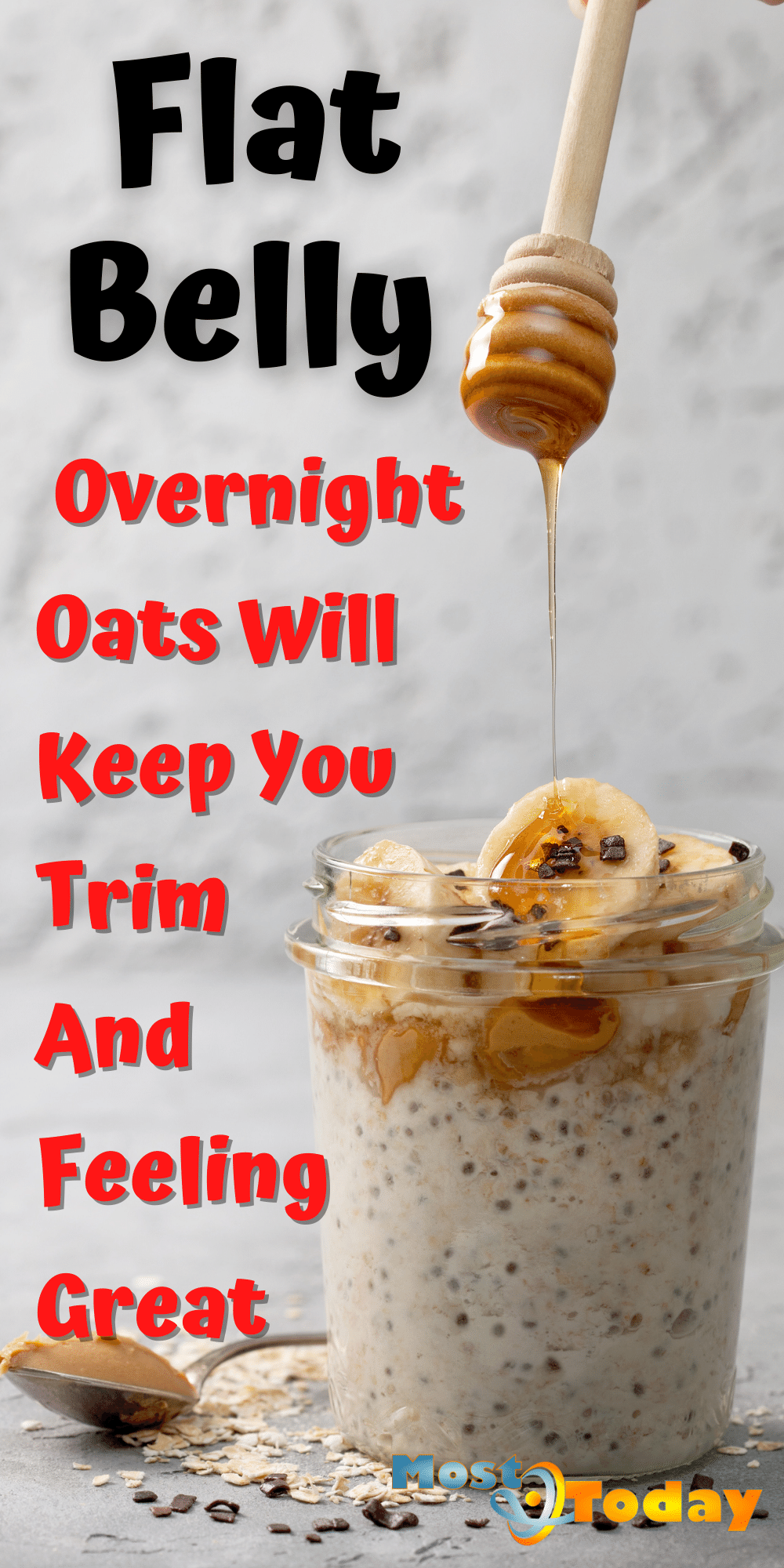 Flat Belly Overnight Oats