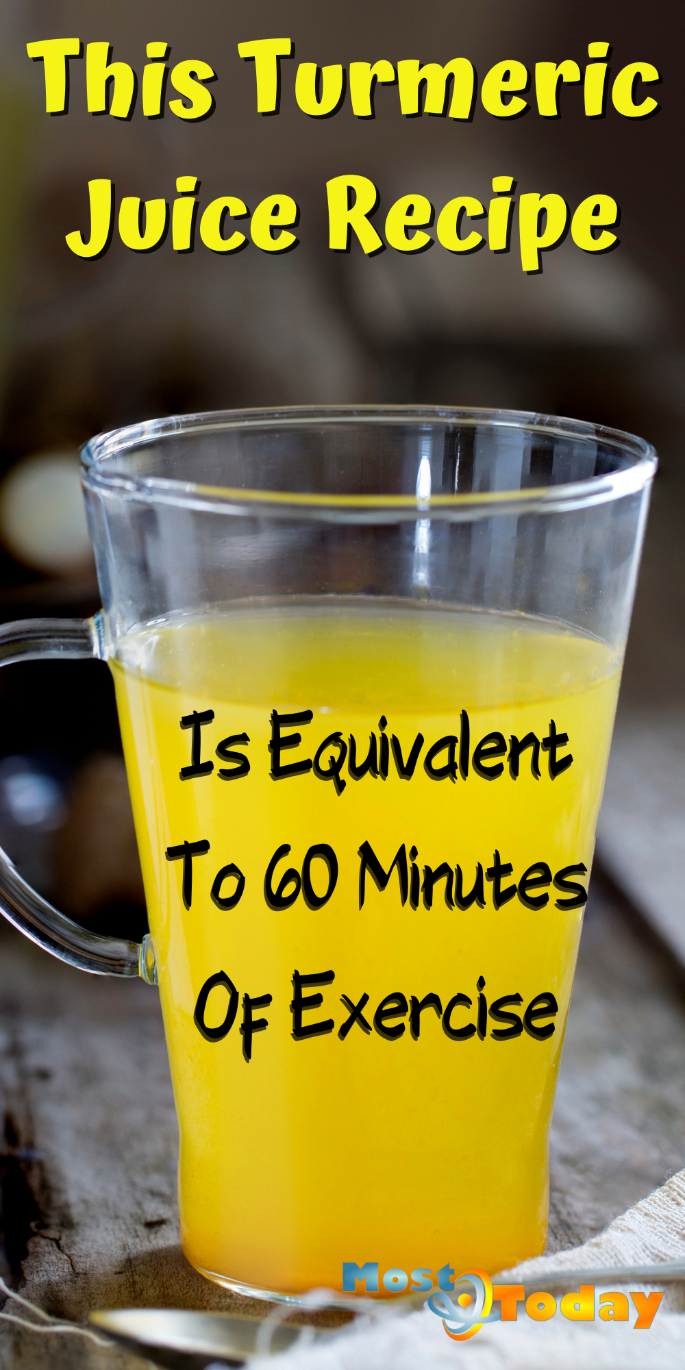 This Turmeric Juice Recipe Is Equivalent To 60 Minutes Of Exercise